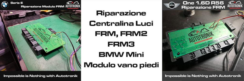 riparazione frm bmw mini